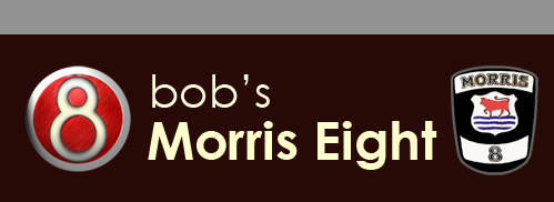 Bob's Morris Eight Site